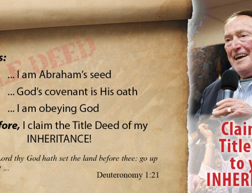 The Title Deed to Your Inheritance